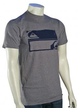 Quiksilver Not Equal T-Shirt - Smoke Heather