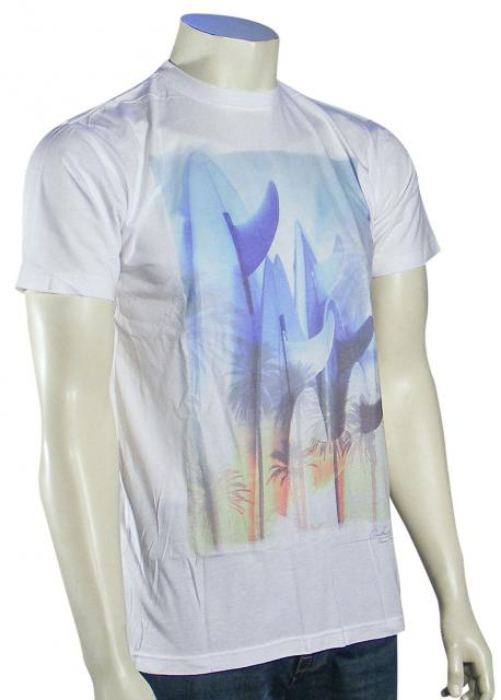 Quiksilver Singles T-Shirt - White