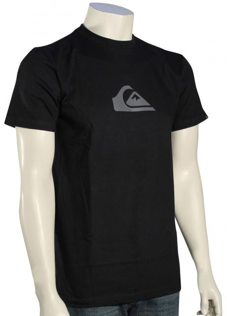 Quiksilver Everyday Logo T-Shirt - Black