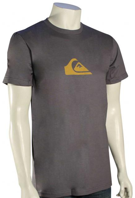 Quiksilver Everyday Logo T-Shirt - Castlerock