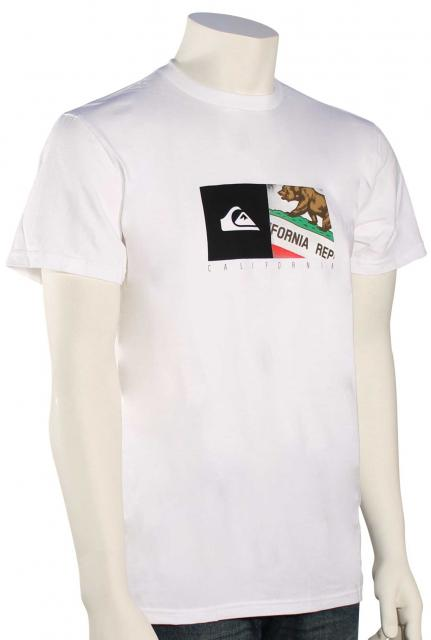 Quiksilver California Coast T-Shirt - White