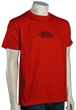 Quiksilver Admiral T-Shirt - Red