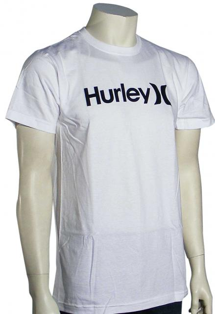 Hurley One and Only T-Shirt - White / Black