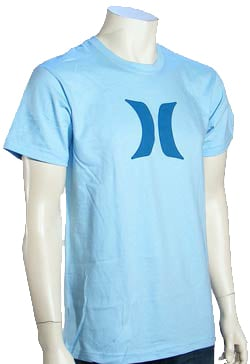 Hurley Icon T-Shirt - Light Blue