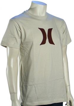 Hurley Icon T-Shirt - Bone / Brown