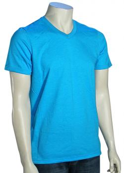 Zoom for Hurley Staple V-Neck T-Shirt - Heather Cyan