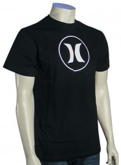 Hurley Block Party Icon T-Shirt - Black