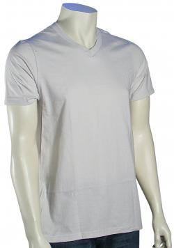 Hurley Staple V-Neck T-Shirt - Mineral Grey