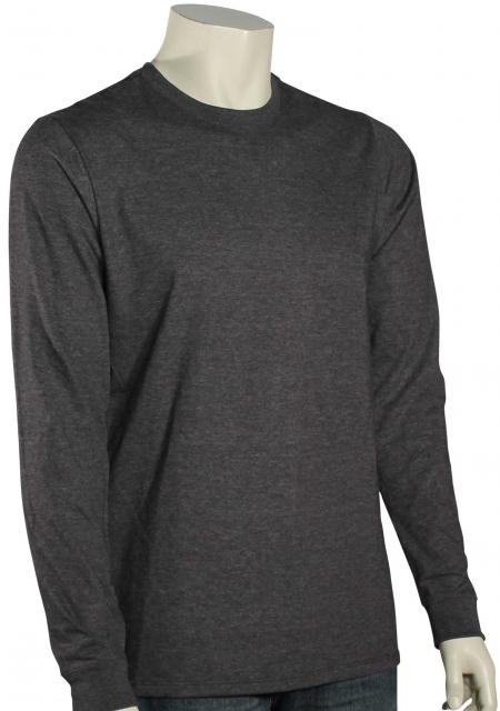 Hurley Staple Premium LS T-Shirt - Heather Black