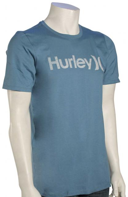 Hurley One and Only Push Through T-Shirt - Smokey Blue