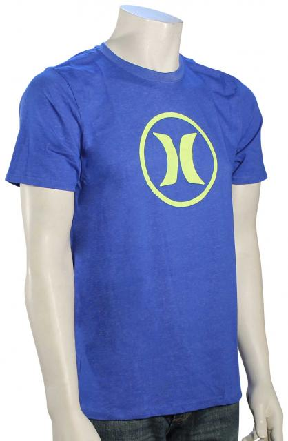 Hurley Icon Dri-Fit T-Shirt - Hyper Cobalt