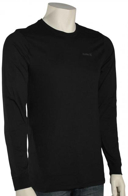 Hurley One and Only LS Dri-Fit T-Shirt - Black / Anthracite