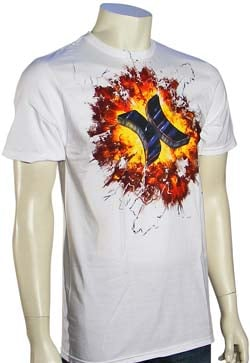 Hurley Ride The Lightning T-Shirt - White