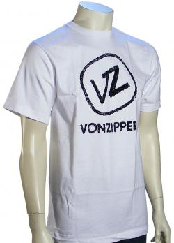 Von Zipper Scratchy T-Shirt - White