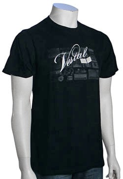 Vestal Back Drop T-Shirt - Black