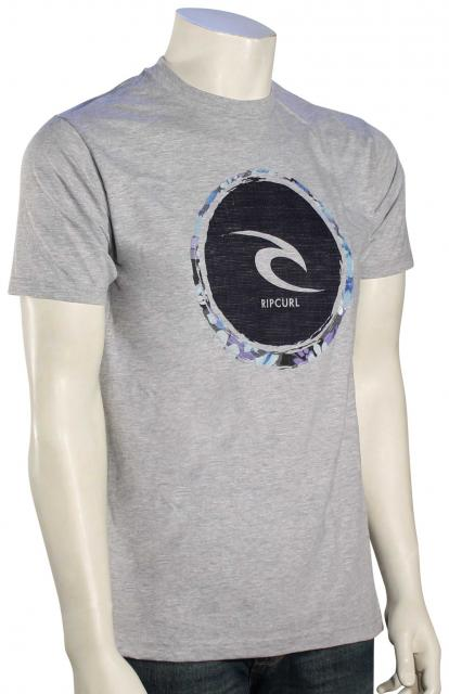 Rip Curl Palomar Heather T-Shirt - Athletic Heather