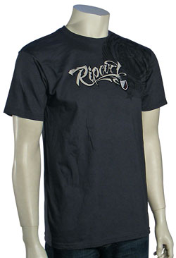 Rip Curl Staple T-Shirt - Charcoal