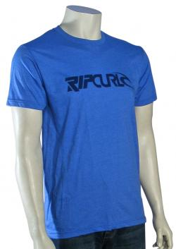 Rip Curl Just This Heather T-Shirt - Royal Heather