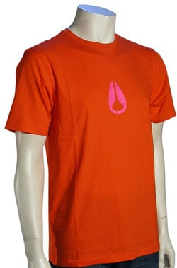 Nixon Wings T-Shirt - Red Pepper