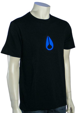 Nixon Wings T-Shirt - Black / Blue
