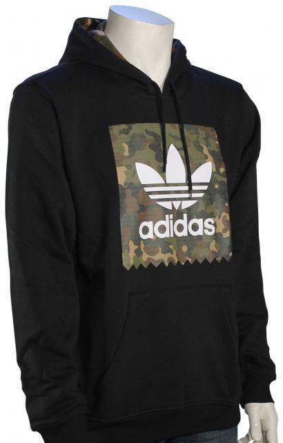 Adidas Blackbird Camo Pullover Hoody - Black   Camo Print For Sale at  Surfboards.com (1714606) 8fb1dfa43e94