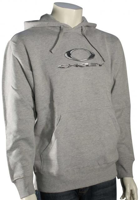 Oakley Liquid Fleece Hoody - Heather Grey