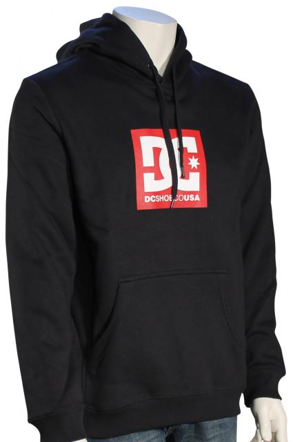 763c84edd004 DC Square Star Pullover Hoody - Black - New