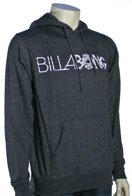 Billabong Impact Pullover Hoody - Black Heather