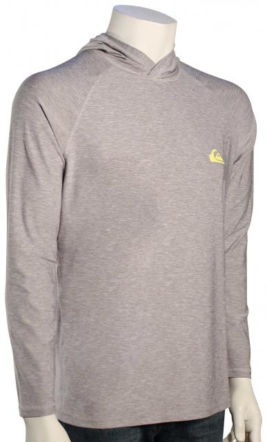 Quiksilver Amphibian Pullover Hoody - Silver Sconce