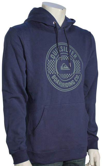 Quiksilver Major Screen Pullover Hoody - Dark Denim