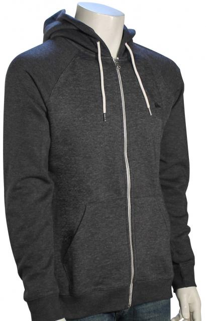 Quiksilver Everyday Zip Hoody - Dark Grey Heather