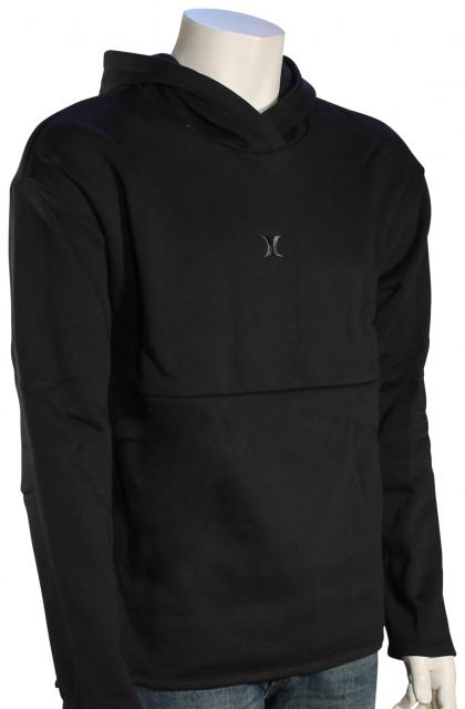 Hurley Surf Check Outliner Pullover Hoody - Black