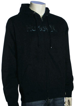 Hurley One and Sherpa Hoody - Black