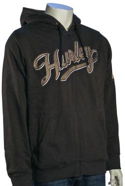 Hurley Station Zip Fleece Hoody - Brown