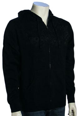 Von Zipper Angular Zip Fleece Hoody - Black