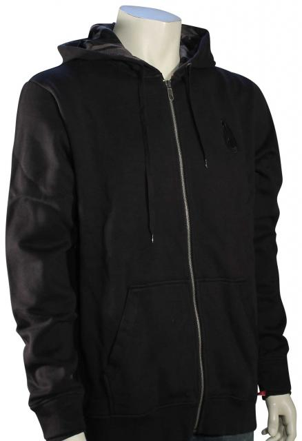 Nixon PDX Zip Fleece Hoody - Black