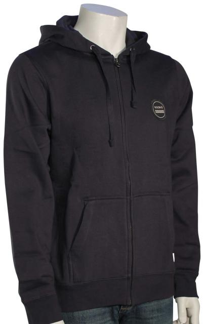Nixon Oxford Zip Hoody - Midnight Navy