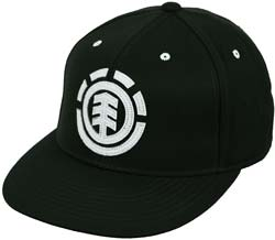 Element Carter Hat - Black / White