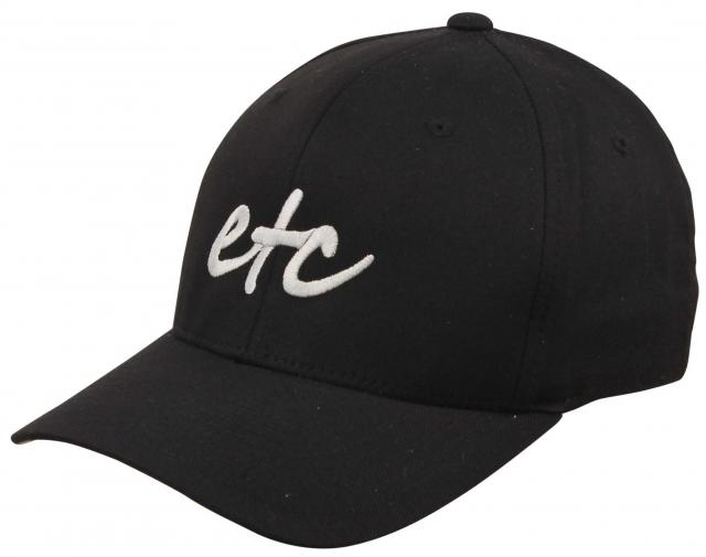 Etc Logo Hat - Black / White