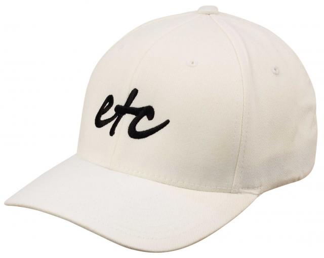 Etc Logo Hat - White / Black