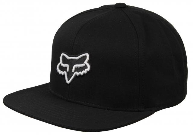 Fox Legacy Snapback Hat - Black   White For Sale at Surfboards.com (1813360) 02625ff78634