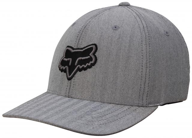 Fox Transfer Flexfit Hat - Grey