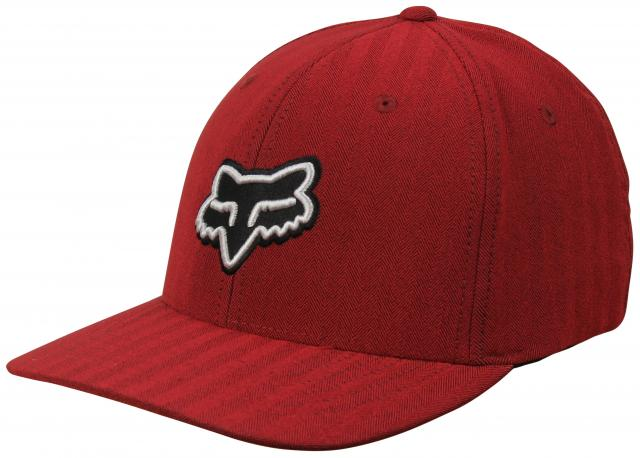 Fox Transfer Flexfit Hat - Red