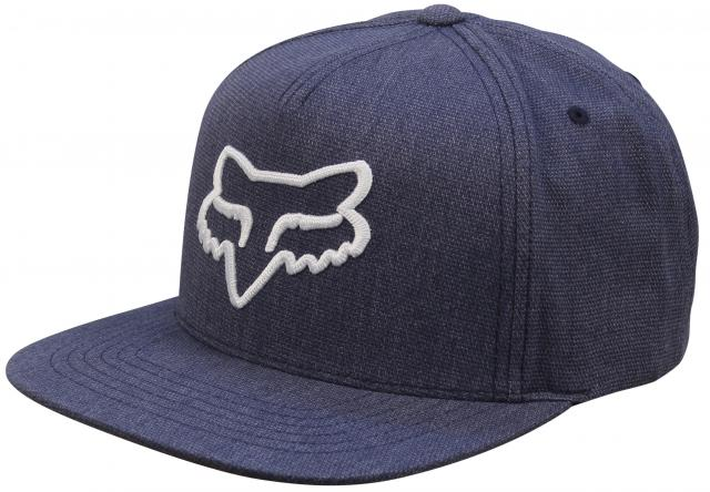 Fox Instill Snapback Hat - Heather Midnight