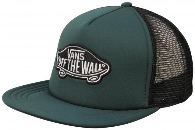 Vans Classic Patch Trucker Hat - Darkest Spruce