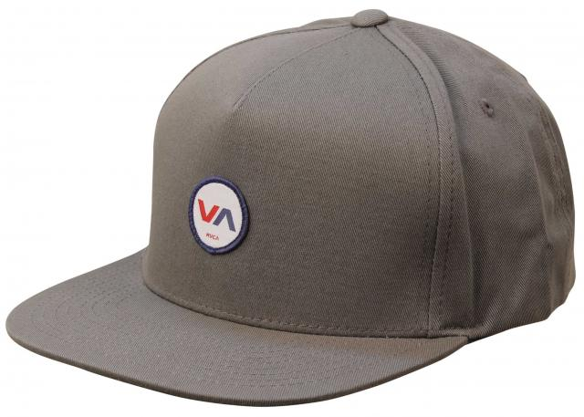RVCA Center Snapback Hat - Grey