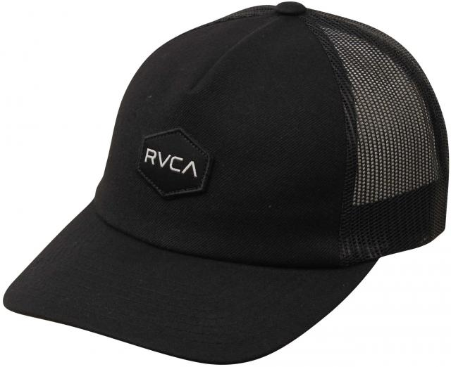 RVCA Commonwealth Trucker Hat - Black