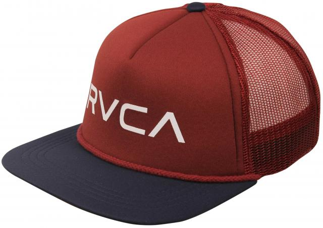 RVCA Foamy Trucker Hat - Navy / Wine