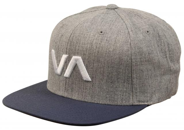 RVCA VA Snapback Hat - Blue Heather