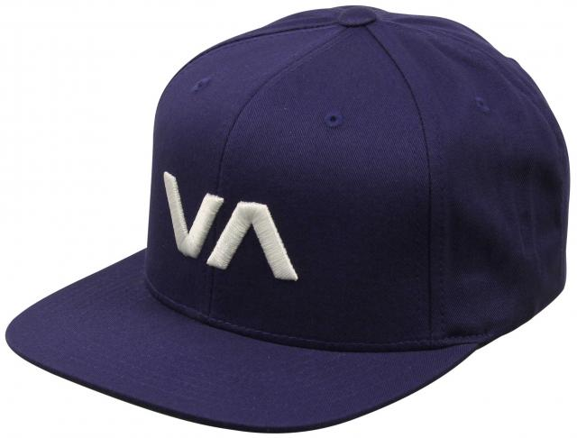 RVCA VA Snapback Hat - Dark Blue